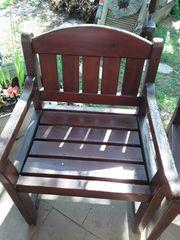 Gartenstühle aus Holz