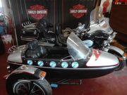 Harley Davidson Gespann