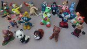 Ca 40 Plastikspielfiguren ab 60iger