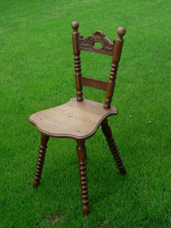 Stuhl -Einzelstück-
