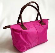 Tasche Kosmetiktasche pink mit Henkeln