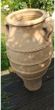 Terracotta Amphore groß
