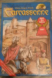 Carcassonne Grundspiel Gesellschaftsspiel Spiel