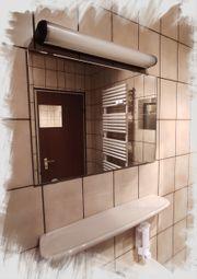 Spiegel Badspiegel Wandspiegel 60x45cm Kristallspiegel