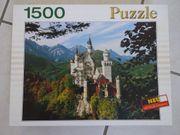 Puzzle Schloss Neuschwanstein 1500 Teile