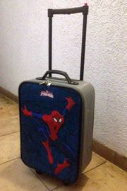 Spiderman Kinder Koffer Trolley