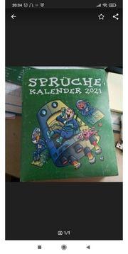 Kalender 2021 OVP zu verschenken