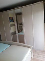 Schlafzimmer Esche Perlmutt NB Lattenrahmen
