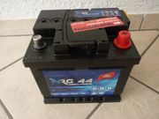 Neue Autobatterie 44 AH