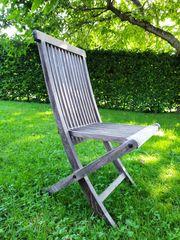 Gartenstühle klappbar aus Hartholz