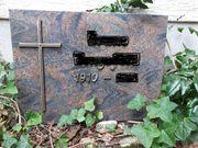Grabstein aus Granit 60 x