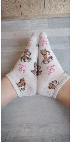 BDSM - Getragene Socken Schuhen