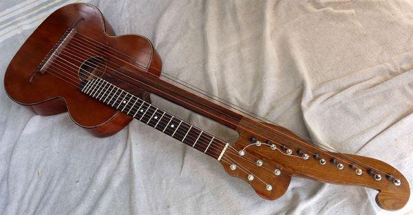 Wiener Kontragitarre vor 1850