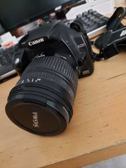 Canon EOS 350D - mit Zubehör