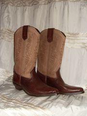 Cowboystiefel Westernstiefel Fasching Cowgirl Gr