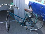 Gebrauchtes Damencitybike reparaturdürftig