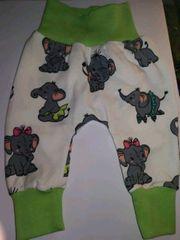 Pumphose Elefantenbaby Bund grün Gr