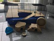 Nagerkäfig Hamsterkäfig inkl Zubehör NP