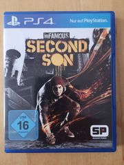 Second Son Spiel PS4
