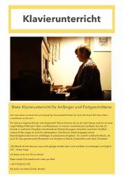 Biete Klavierunterricht
