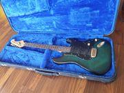 E Gitarre mit Koffer