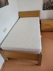 Bett 100x200cm mit elektr Lattenrost