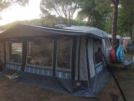 Campingartikel - Sehr robustes Ganzjahres Vorzelt mit