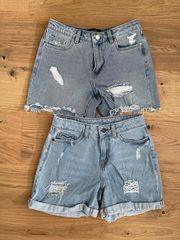 Jeans Shorts Hotpants Gr XS