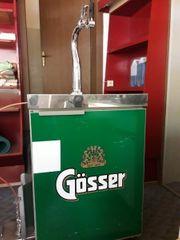 Gösser Kühlschrank Zapfanlage
