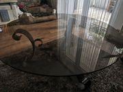 Tischplatte Rauchglas