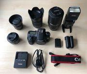 Canon 70D 4 Objektive Zubehör