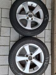 4 x Alufelgen Original VW