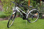 Damenrad Mädchenrad weiß für Körpergröße