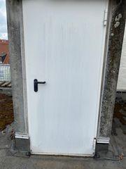 Stahltür Metalltür mit Rahmen