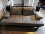 Couch Sofa mit Schlaffunktion Bettkasten
