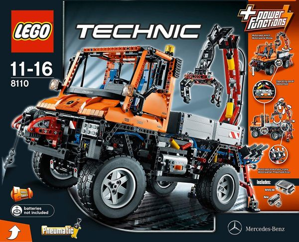 Lego Technic Mercedes Benz Unimog