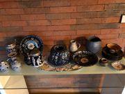 Geschirr verschiedenes Porzellan Keramik Steingut