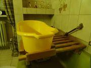 Badewannenaufsatz mit Babybadewanne