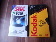 VHS Videocassetten