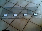 Vorsatzgitter 100cm x 40cm 2
