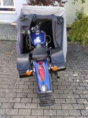 Zeltgarage für Motorrad Fahrrad und