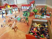 Riesen Playmobil Pferde-Set