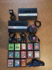 Atari 2600 mit viel Zubehör