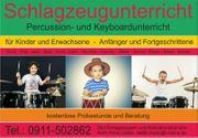 Schlagzeugunterricht Keyboardunterricht