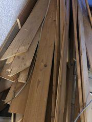 Holz natur Nut und Feder
