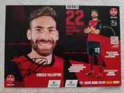 Autogrammkarte Enrico Valentini 1 FC