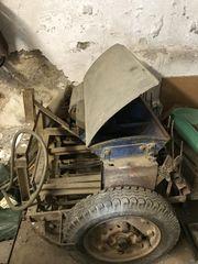 Saatmaschine für den Weinberg