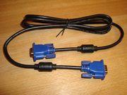 VGA Monitor-Kabel - 1 8m Stecker-Stecker