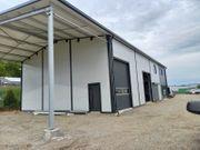 Stahlhalle Mehrzweckhalle mit einem Wohnbereich