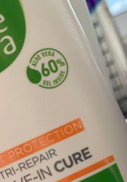 Shampoo oder Conditioner mit Aloe